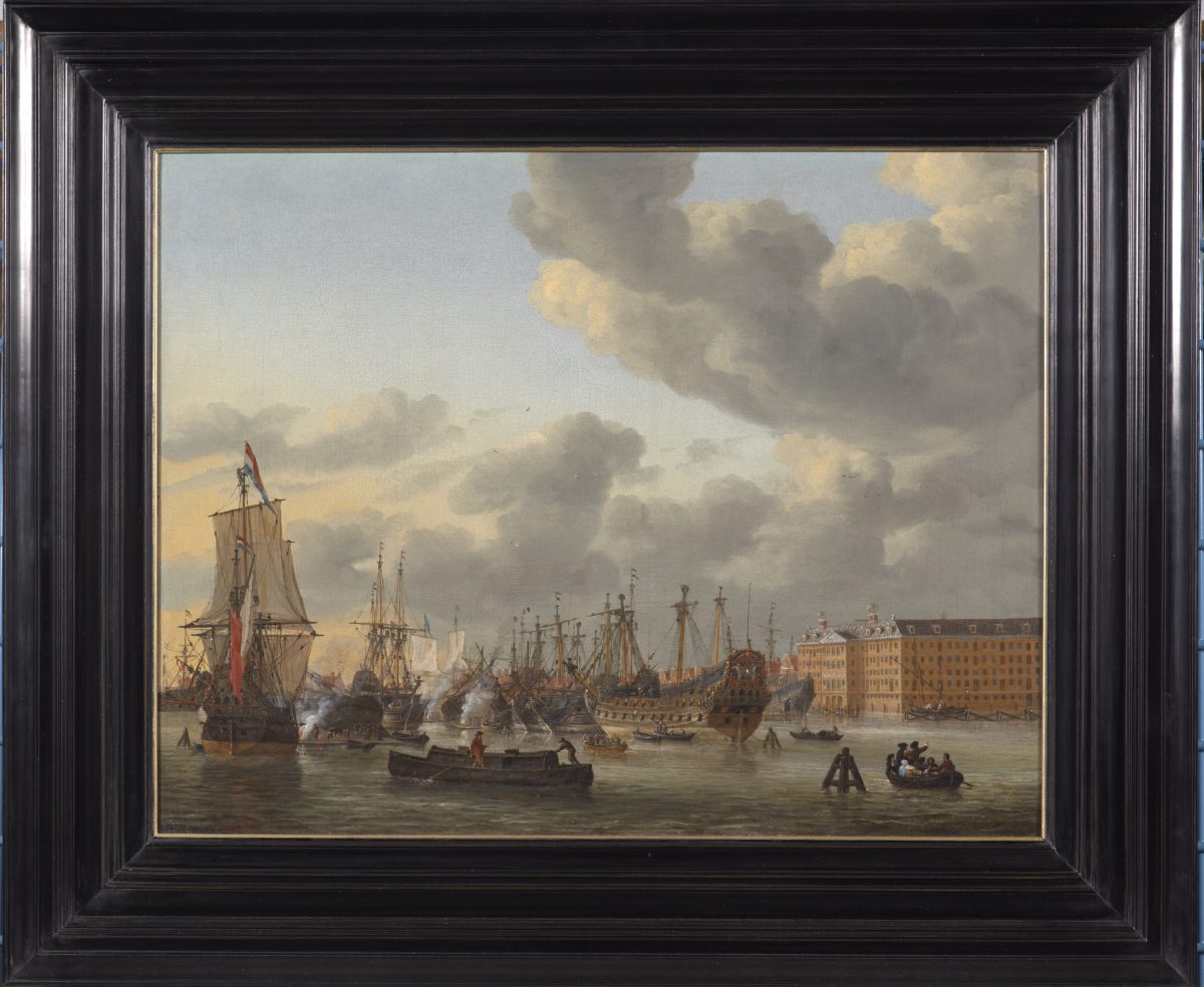 The Oosterdok  anchored in Amsterdam's history